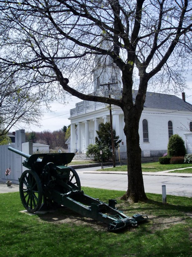 Church on the Common with Artillery