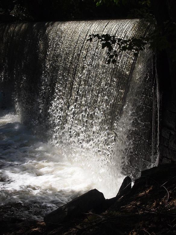 Manchaug Falls, August 2011