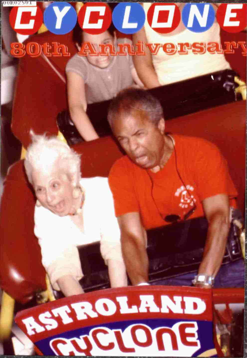 On the Cyclone with Garry - July 2007