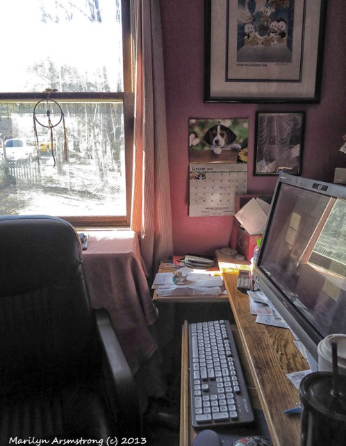 My office, home version