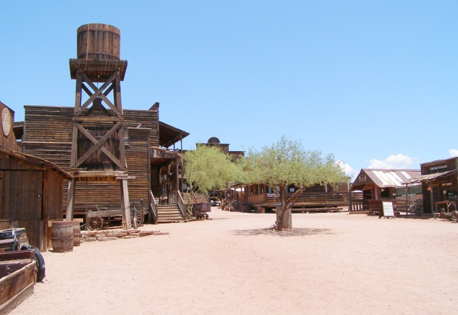 Ghost Town by Apache Junction