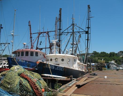 Gloucester, Massachusetts, home of the famed fishing fleet