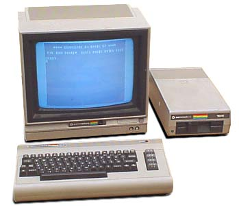 Commodore 64 - the most popular computer ever produced. More than 30 million of them sold. Yes, I had one of these, too.