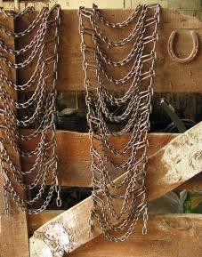 Inside an old barn in Uxbridge, Massachusetts.