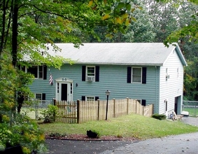 Our new home - July 2000