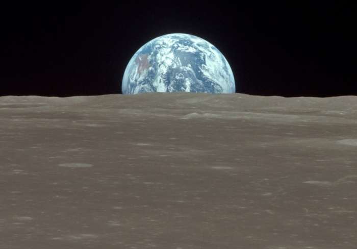 The view from the Apollo 11 (NASA)