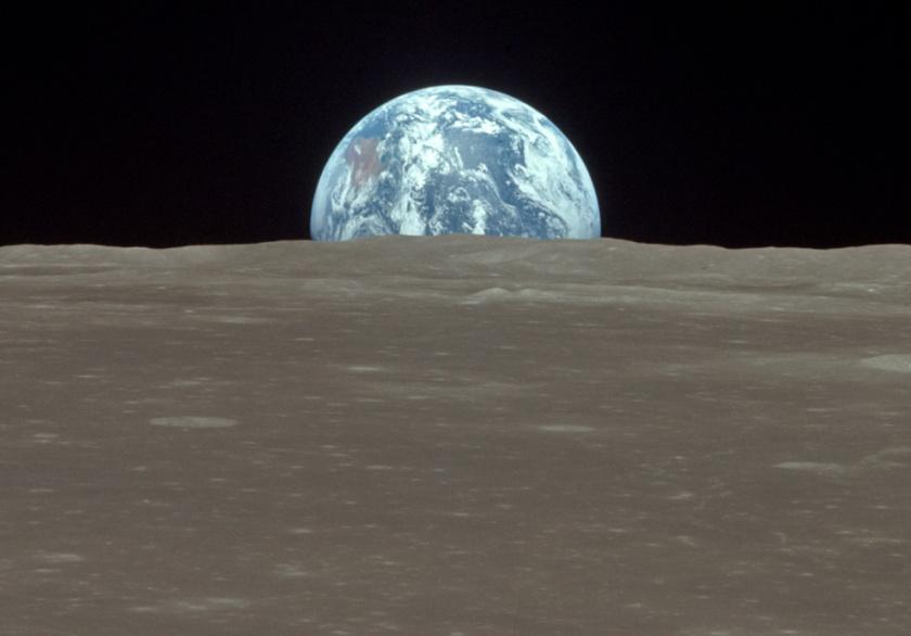 The view from the Apollo 11 (NASA)
