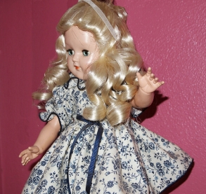 She was my second doll, for my sixth birthday..