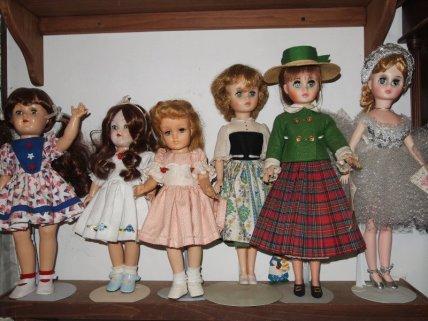 Three Tonys plus Maria, Maggie and Elise (Mme. Alexander)