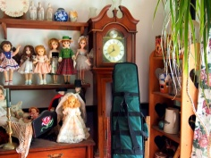 Dolls and a dulcimer
