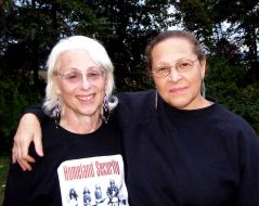 Cherrie and Marilyn