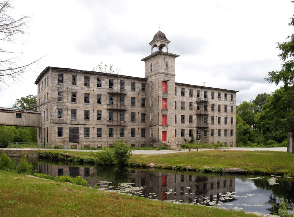 Slaterville Mill -- oldest mill in the valley and recently renovated. Picture is pre-renovation.