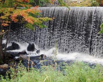 October at the falls