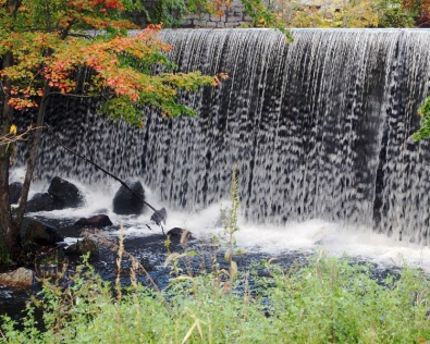 October at the falls