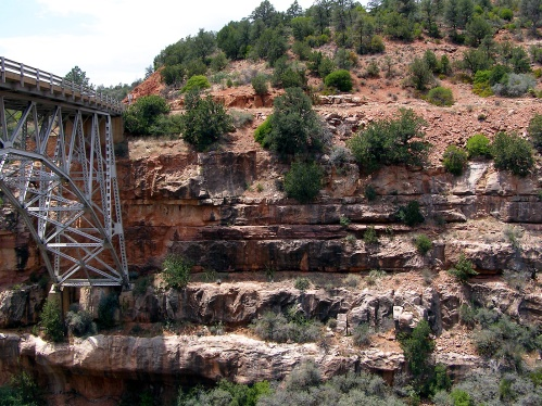 Bridge over the Little Colorado - Marilyn Armstrong