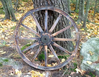 Just a wagon wheel ...