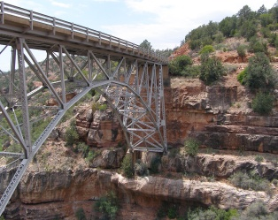 "Bridge over the ""Little Colorado"" - Marilyn Armstrong"