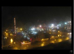 Coney Island post Hurricane Sandy.