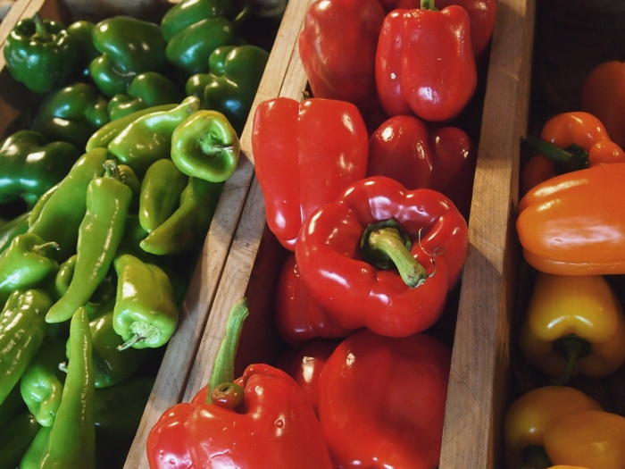 Peppers and beans