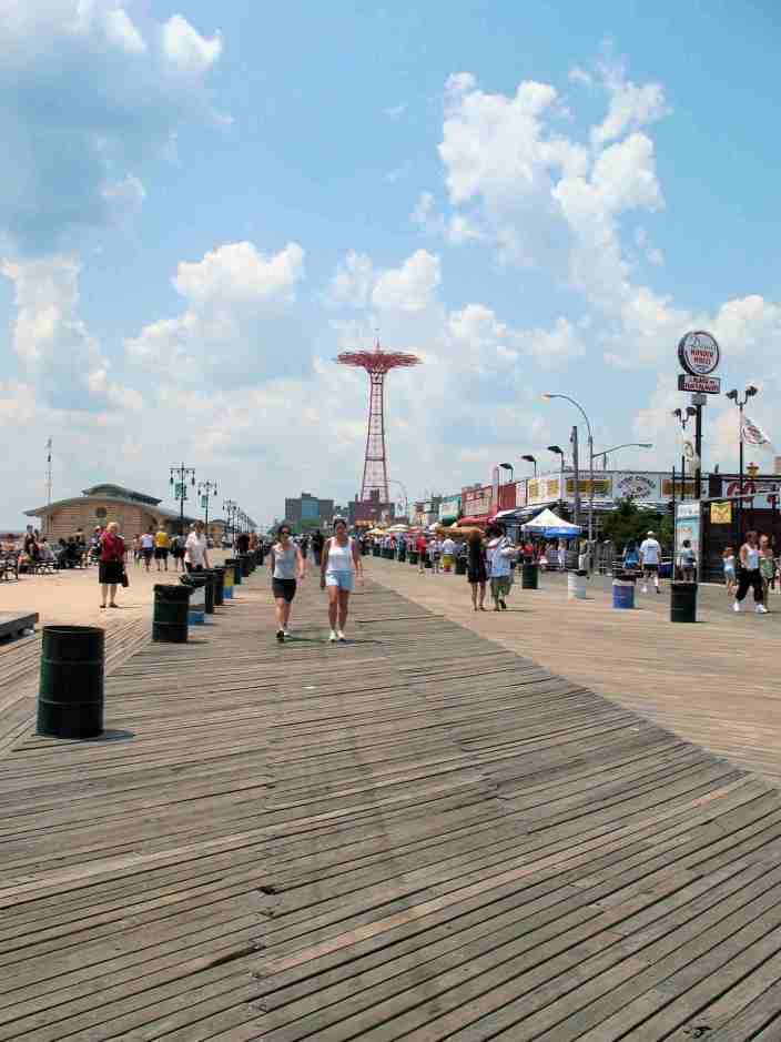 Boardwalk at Coney Island - Marilyn Armstrong