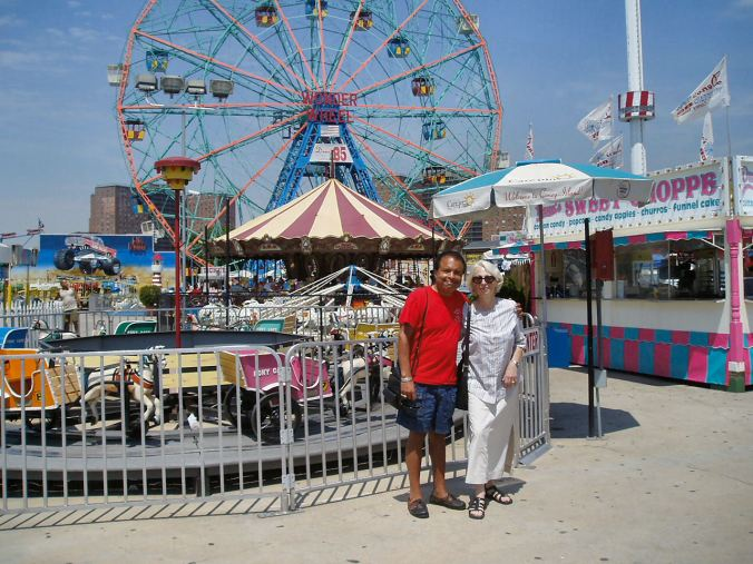 Us ... Coney Island ... 2007 or thereabouts.