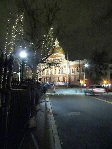 December: Approaching Beacon Hill