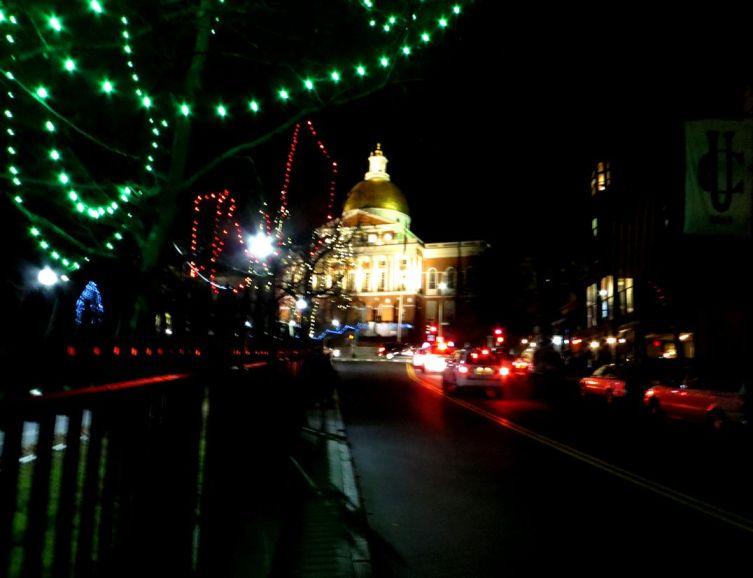Christmas and Boston