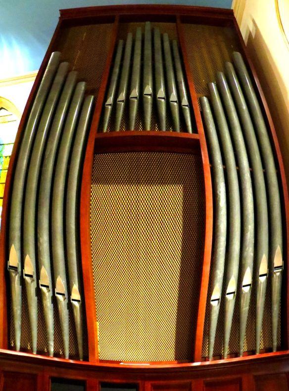 Organ Pipes Fisheye