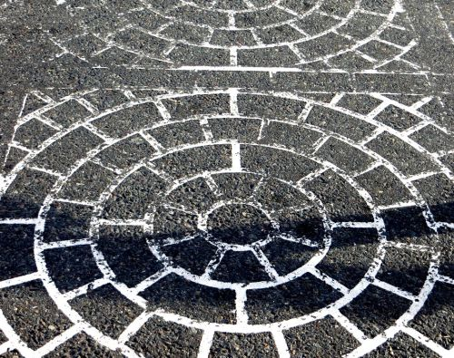 Crosswalk shadow