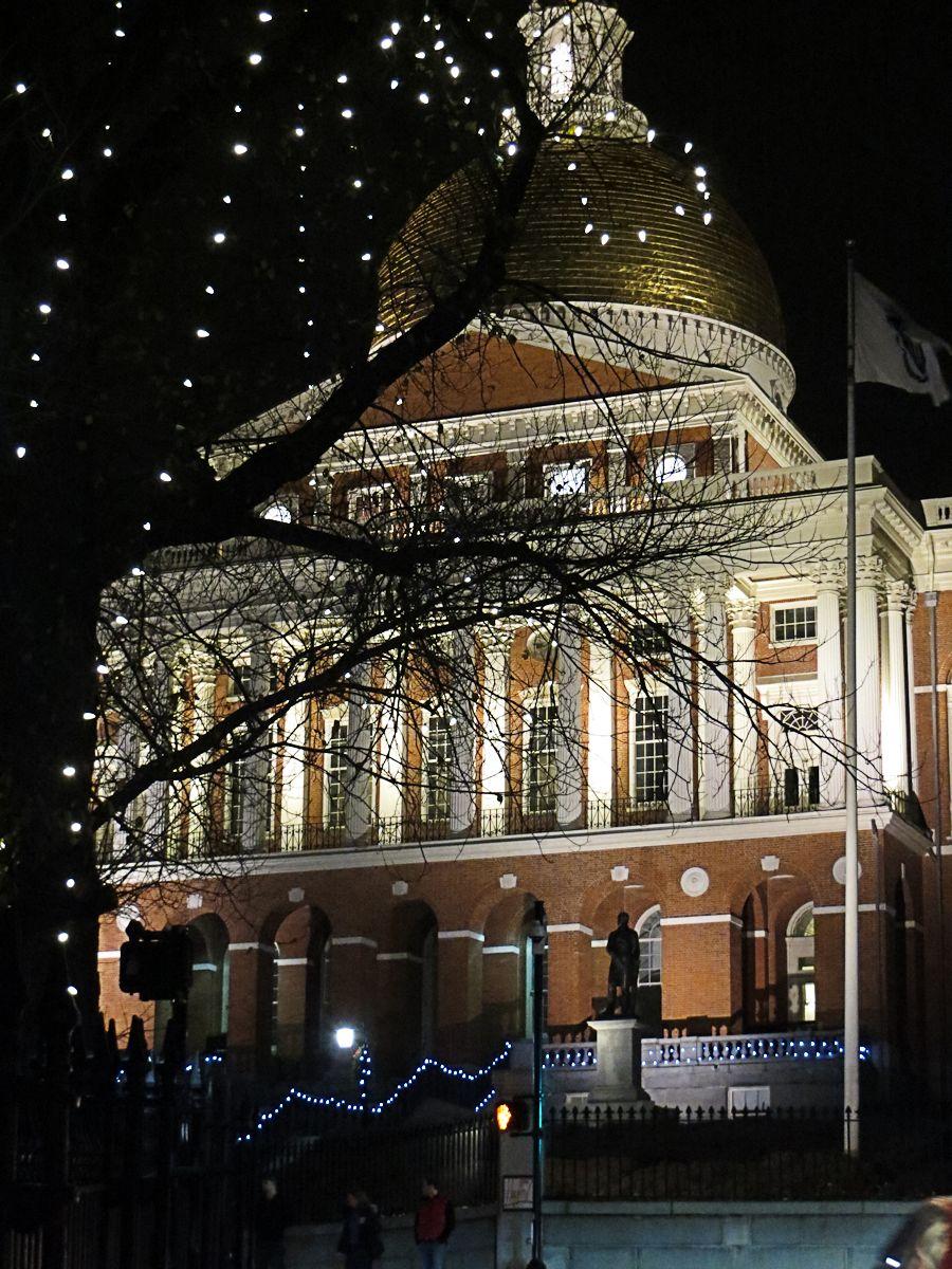 Statehouse - Dec Night