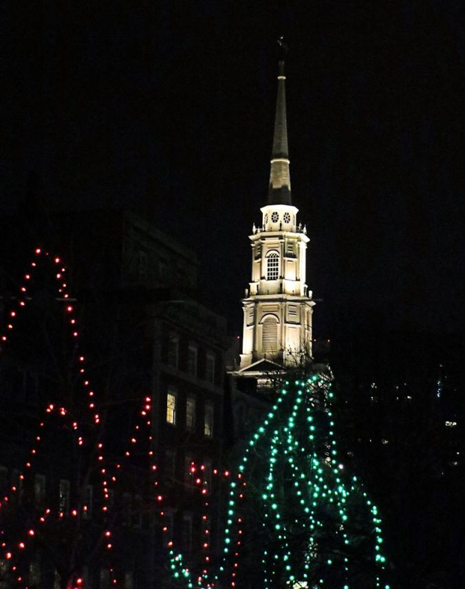 Old South Church from Boston Commons