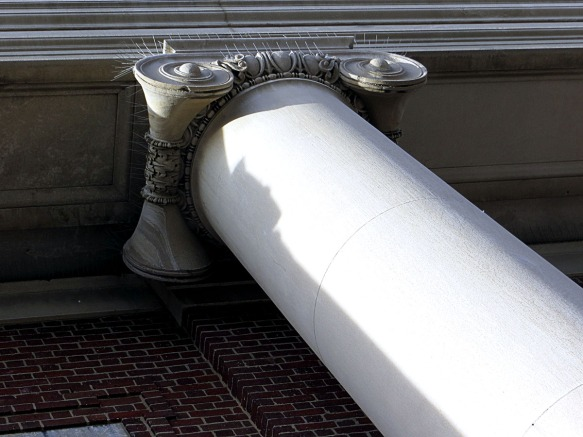 Symphony Hall Pillar