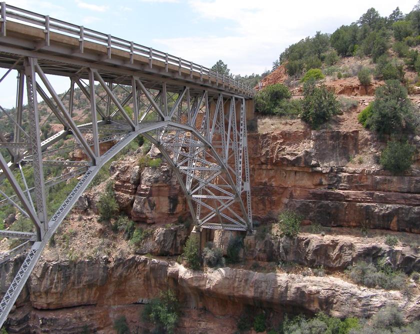 Bridge over the Little Colorado