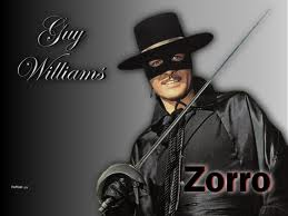Guy Williams as Zorro
