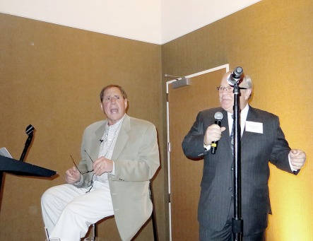 Bob Lobel and Shep Harman (producer)