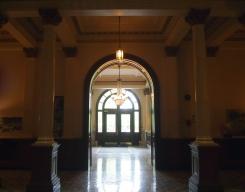 hallway arches doorway