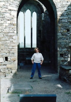 Abbey ruins near Ashford Castle