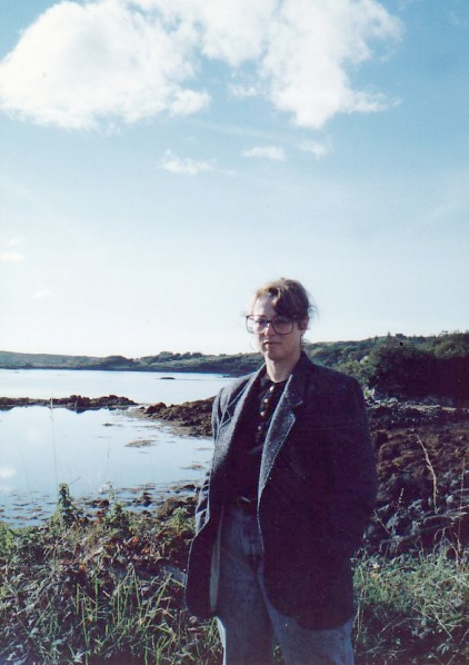 At Loch Gill, with the Isle of Innisfree behind me