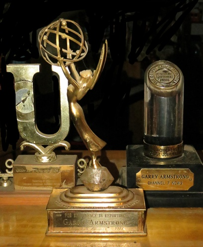 Garry's Emmy -- and there are more. Celebrity? Yup.