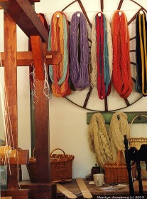Old Williamsburg, Virginia - The Yarn Shop