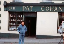 Garry In Cong at Pat Cohan's pub