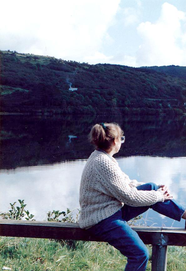Marilyn - at Loch Gill