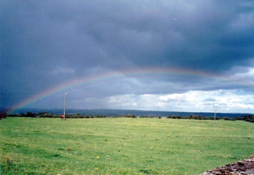 Rainbow over Sligo