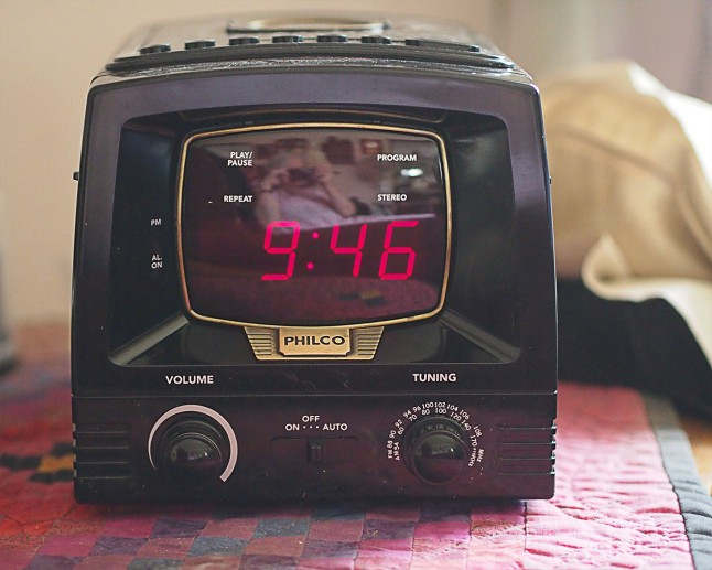 Philco Clock Radio CD