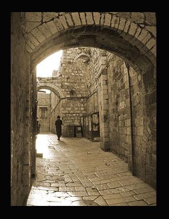 JerusalemOldCitySepia-3