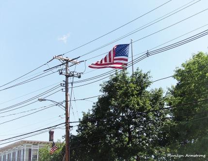 Flag Over Uxbridge