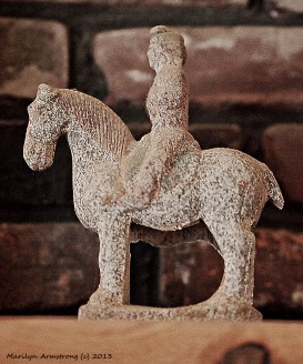 Tang horse, for a peasant family