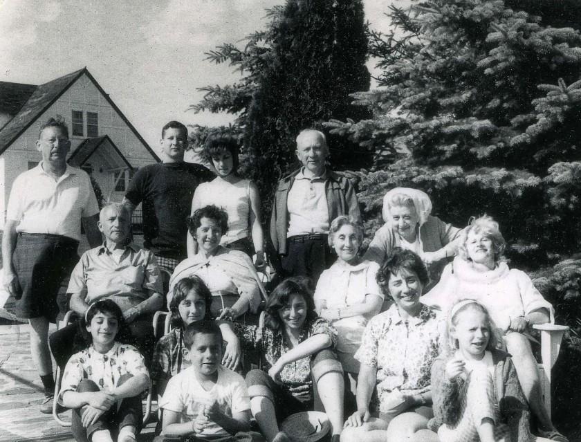 My family, July 1963