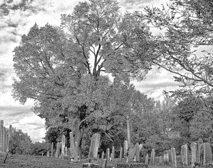 Old cemetary Uxbridge