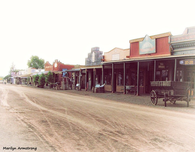 Dusty Streets of Tombstone